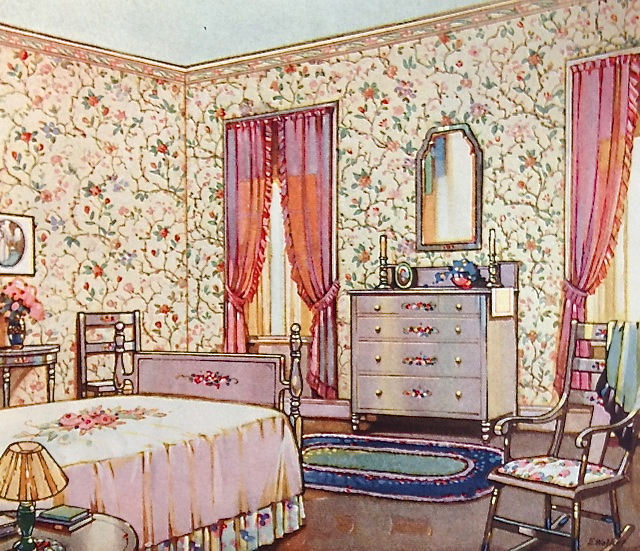 How Much Vintage Wallpaper Do I Need Ad