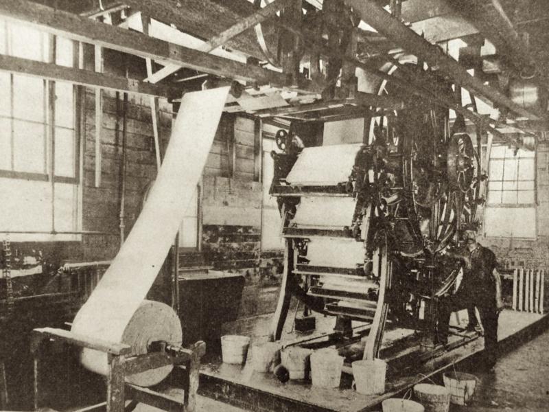 Printing Vintage Wallpaper