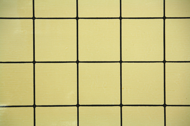 Vintage Wallpaper Tile Faux Finish