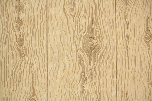 Vintage Wallpaper Wood Grain