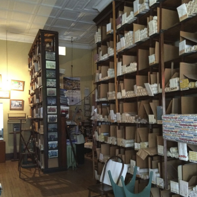old wallpaper store