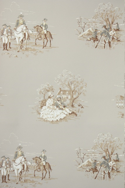 American Revolution Vintage Wallpaper