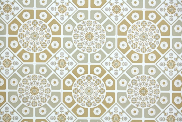 retro vintage wallpaper geometric from Hannahs Treasures