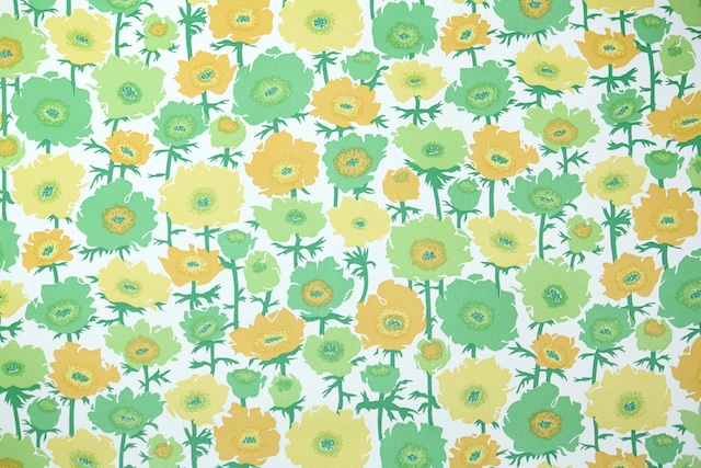 retro floral from Hannahs Treasures Vintage Wallpaper
