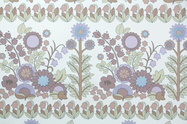 retro wallpaper Hannahs Treasures Vintage Wallpaper