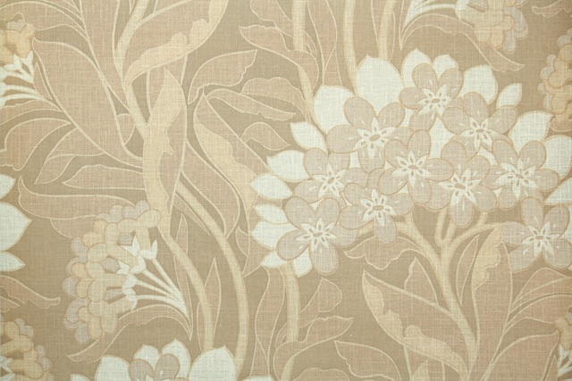 retro brown floral from Hannah's Treasures