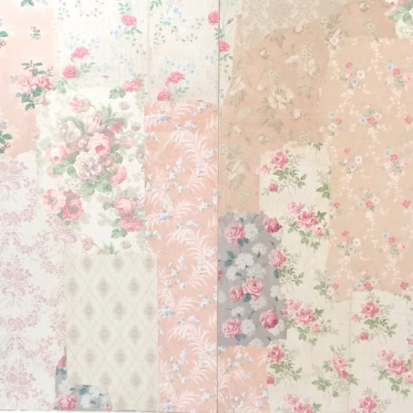 vintage wallpaper wedding photo backdrop