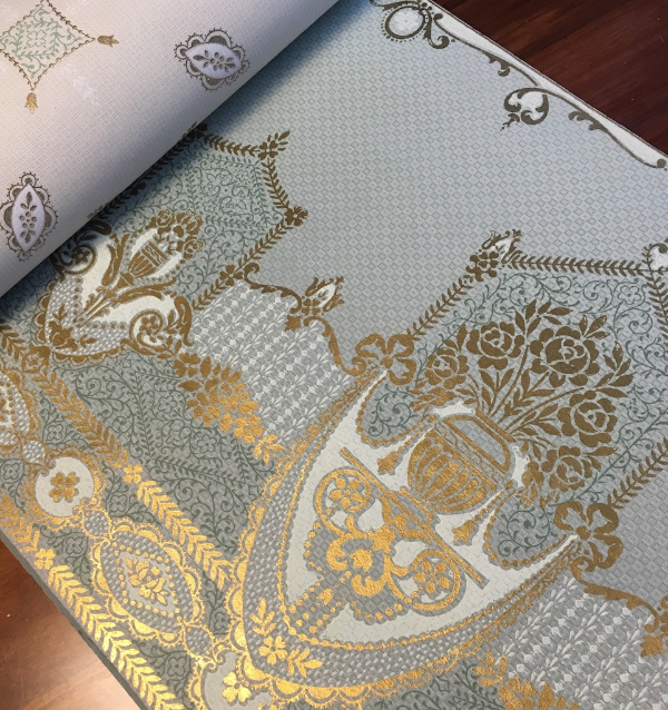 antique wallpaper book
