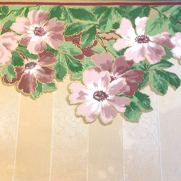 antique wallpaper sample book 1913