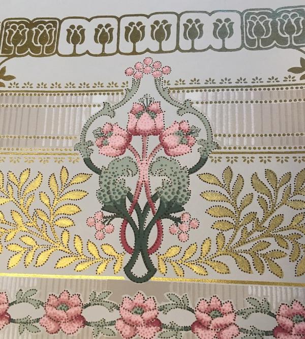 antique wallpaper sample book 1913