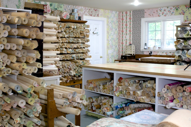 Hannah's Treasures Vintage Wallpaper Workshop