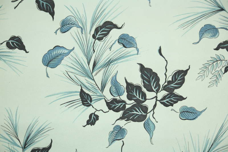 1940s Botanical Vintage Wallpaper from Hannah's Treasures Collection