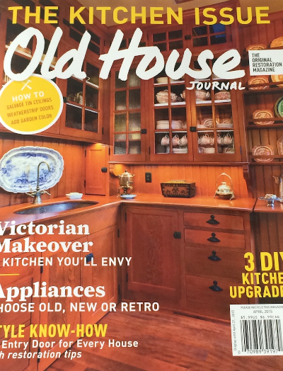 Old House Journal April 2015