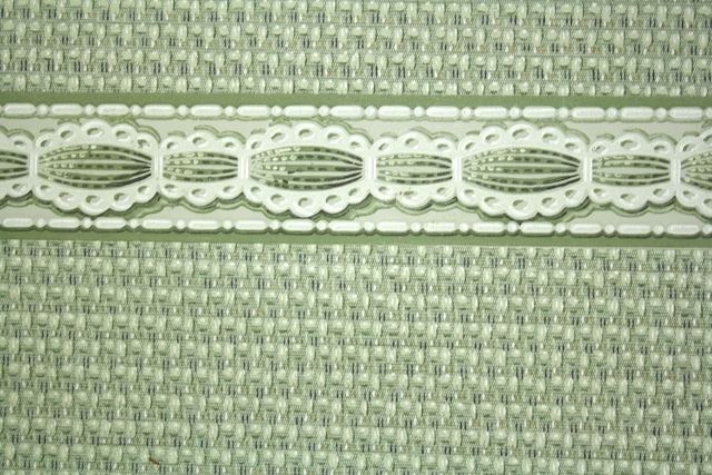 Vintage Wallpaper and Border