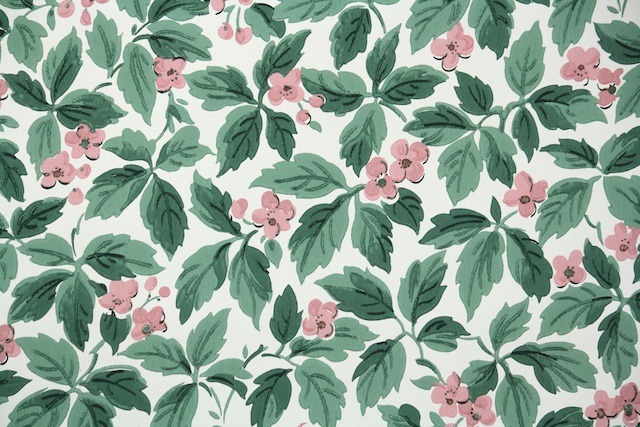 1950s vintage wallpaper from Hannah's Treasures