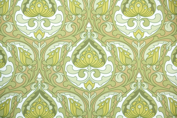 Ophelia S Adornments Blog May 2012: Absolutely Fabulous Retro Wallpaper From Canada (Hannah's
