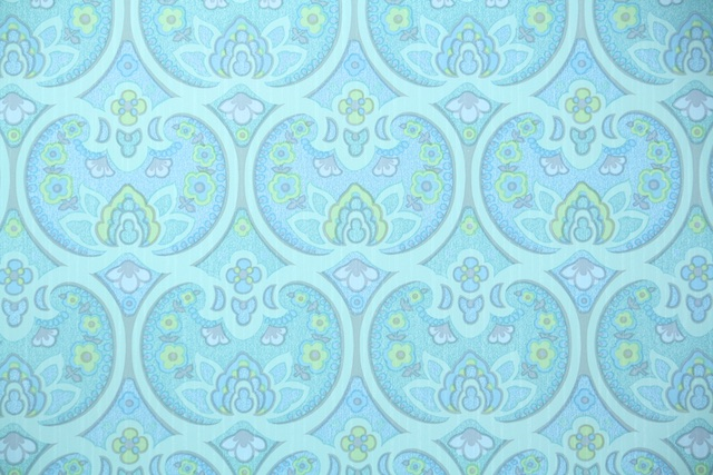 retro vintage wallpaper from Hannahs Treasures