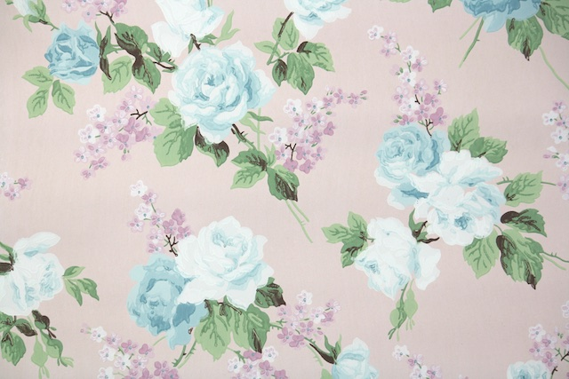 vintage wallpaper from Hannah's Treasures