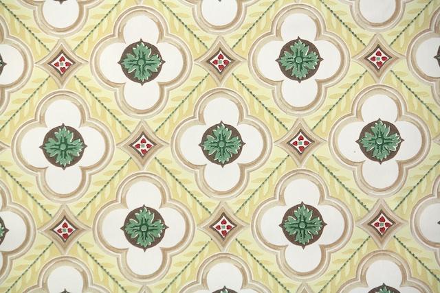 vintage wallpaper from Hannah's Treasures