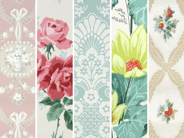 Hannahs Treasures Vintage Wallpaper