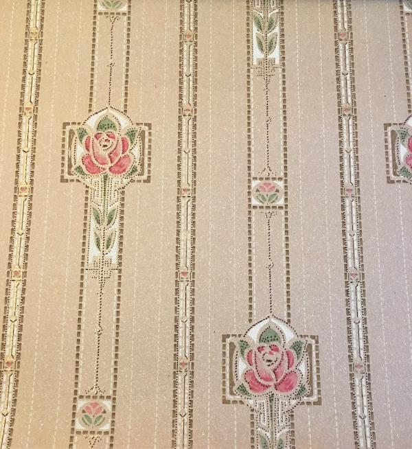 1913 antique wallpaper book