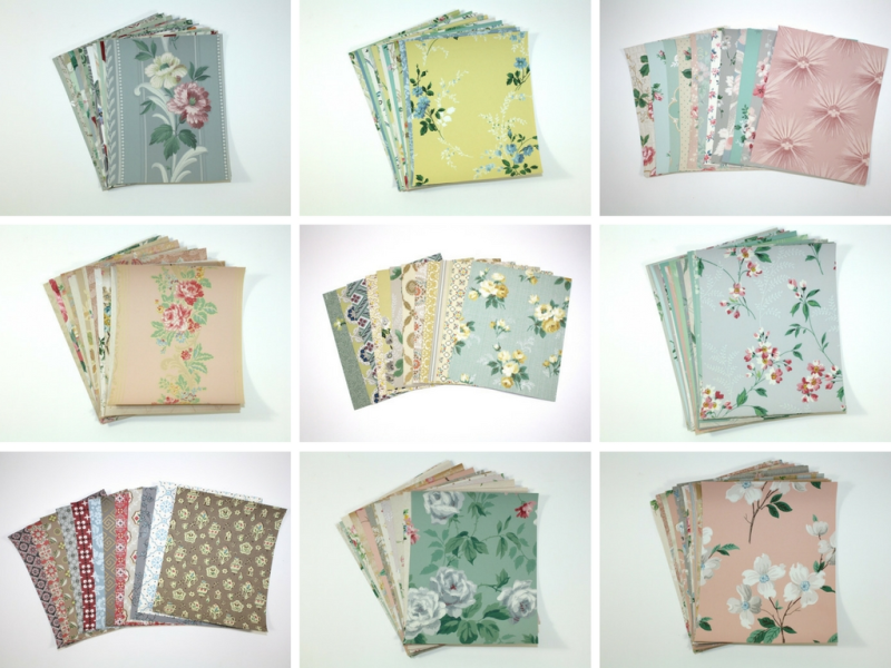Vintage Wallpaper Packets