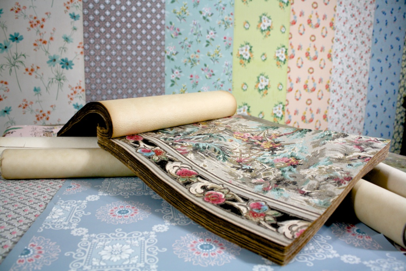 Vintage Wallpaper - Hannah's Treasures workshop
