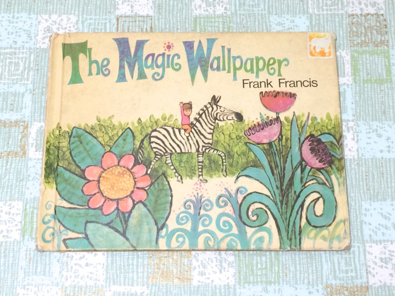 Vintage Children's Book About Wallpaper