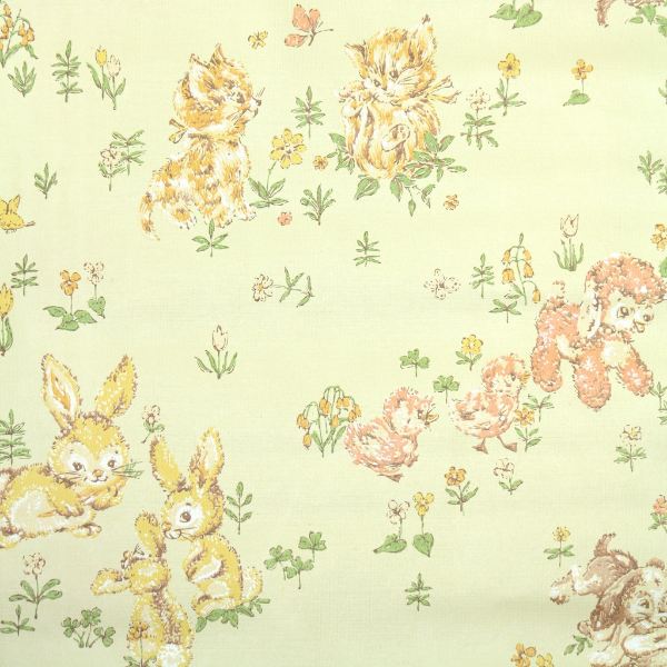 Vintage Children's Wallpaper