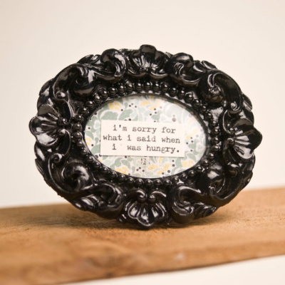 framed quote from Vintagetypegirl