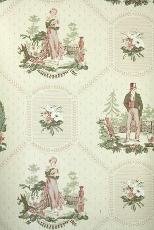 Hannah's Treasures Vintage Wallpaper