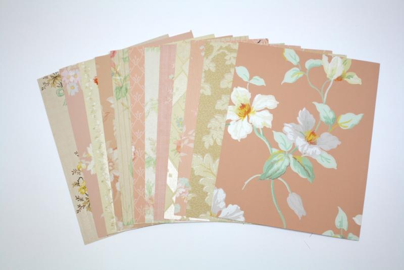 Vintage Wallpaper Collage Pack